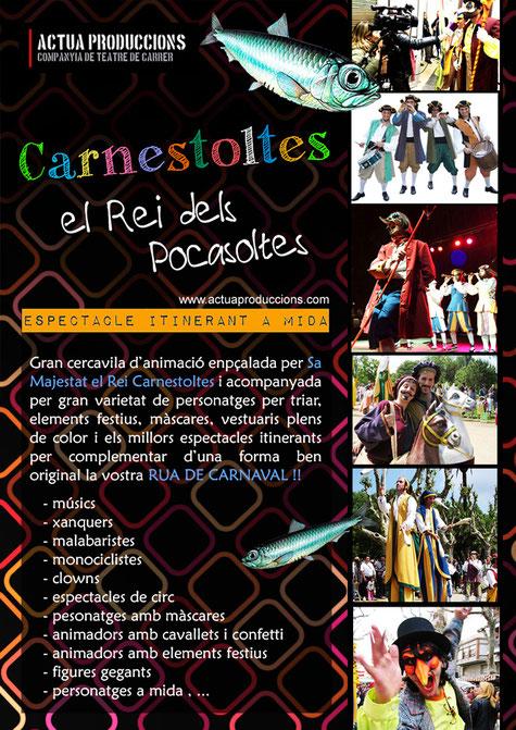Espectacles Rua de Carnestoltes
