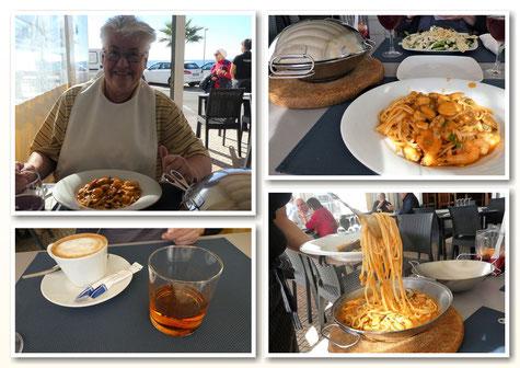 """Spaghetti """"Marisco"""" ... nur mit Schlabberlätzchen!"""