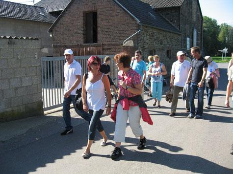 2012 - Wanderung zum Friesenhof - mit anschließendem Grillen