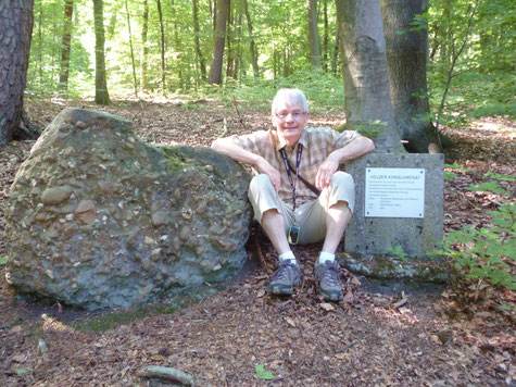 Auf dem Geologischen Lehrpfad in Kirkel, 08.07.2017