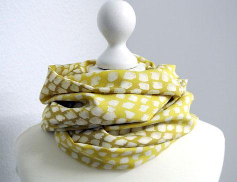 Loop gelb gold weiß von clarigo