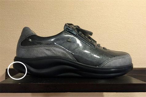 FinnComfort・フィンナミックシリーズ(OTARU\44280)  靴底を見れば一目瞭然です