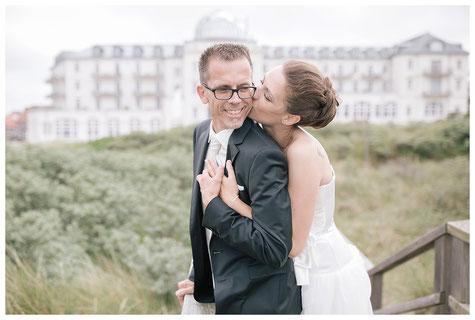 Hochzeit auf Juist, Strandhotel, Kurhaus Juist