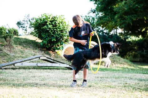 Hundeschule GOOD DOGS - Heusenstamm - Rodgau - Obertshausen - Erziehung - Spaß mit dem Hund - Kind und Hund