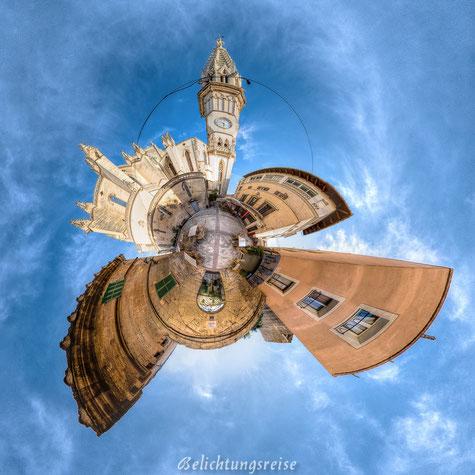 Belichtungsreise, Little Planet, Manacor, Mallorca, Kugelpanorama, Panorama, 360 Grad, 360 Grad Panorama, Kirche