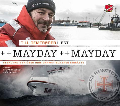 Coverbild des neuen MAYDAY Hörbuchs aus dem Ankerherz-Verlag