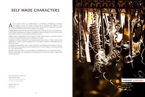 Catalogo d'arte - fotografie, concept grafico, impaginazione e stampa