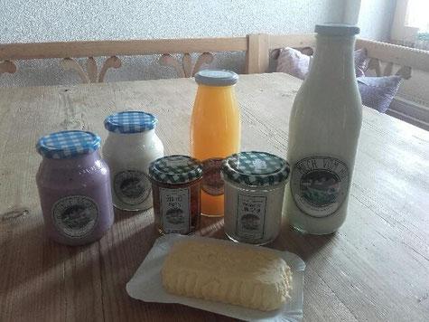 Milchprodukte © Fam. Holzner