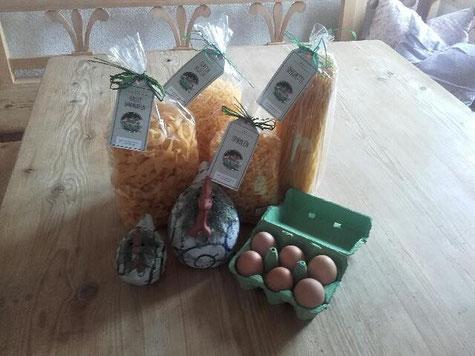 Eier, Getreide und Teigwaren © Fam. Holzner