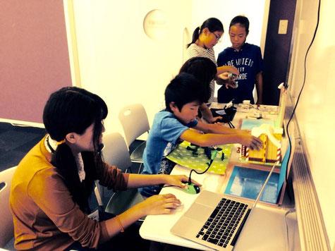 「かっぱの寺子屋」クレイアニメーション教室