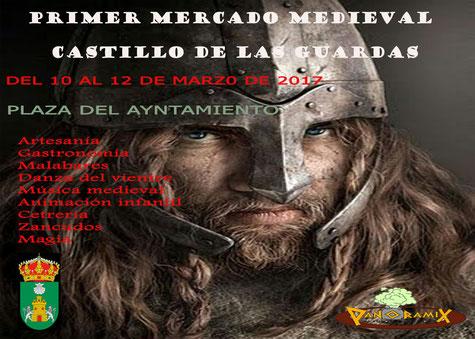 Programa del Mercado Medieval en Castillo de las Guardas