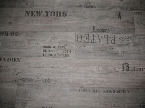 Vinylboden Holzstruktur bedruckt