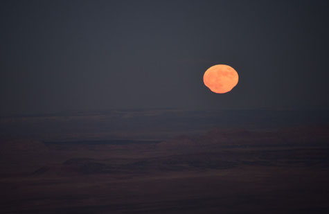 Vollmond 7. November 2014 im Grand Canyon