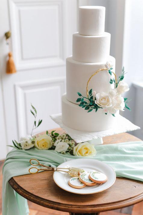 mariage chic champêtre château paris château de séréville