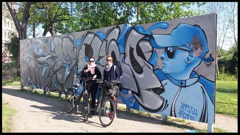 Geführte Radtour zu den Street Art Spots in Dresden