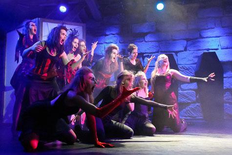 Dracula im November 2012 im Dehnberger Hoftheater