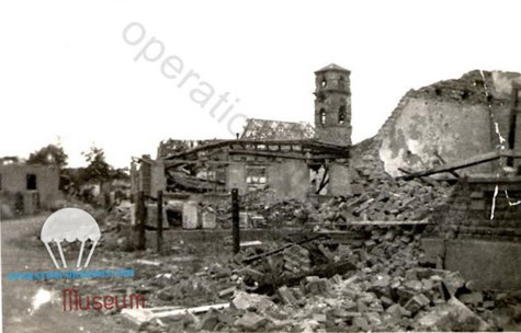 Drusenheim. France. place where Wilder have been Missing.March 1945.