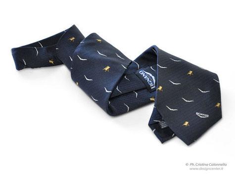 Cravatta in seta jacquard - APT Lignano