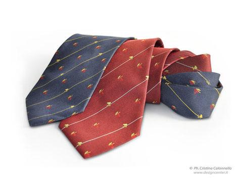 Cravatte  personalizzate seta jacquard Porto Monfalcone