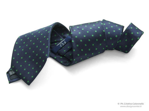 Cravatta personalizzata seta jacquard - Consorzio Area Trieste