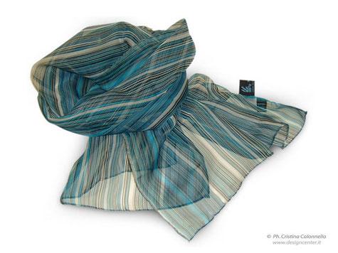 Sciarpa georgette - collezione moda _ Porto Monfalcone