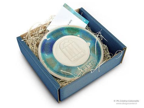 Piattino grès porcellanato  Claber - edizione su misura