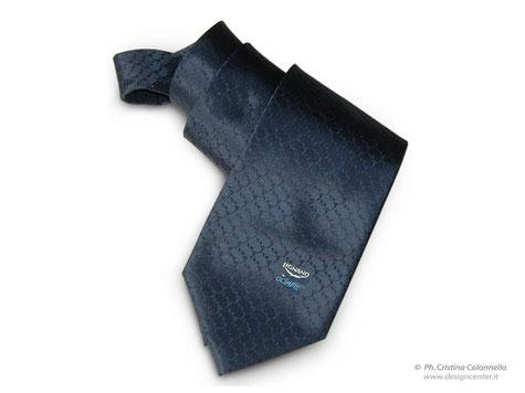 Cravatta  seta jacquard - Eyof Lignano