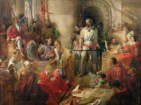 William Wallace wird der Prozess gemacht.