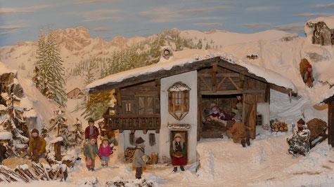 Adventsmarkt im Schuastahof Bergern