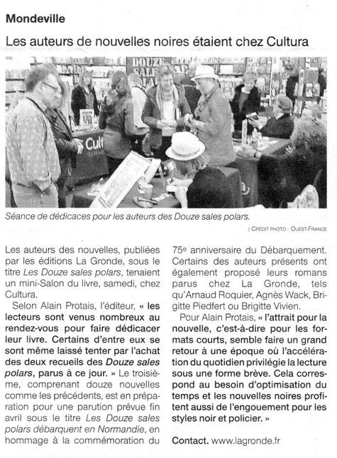 Ouest-France du 25 mars 2019