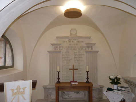 Altar Winterkirche