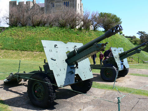 Artillery in Dover Castle
