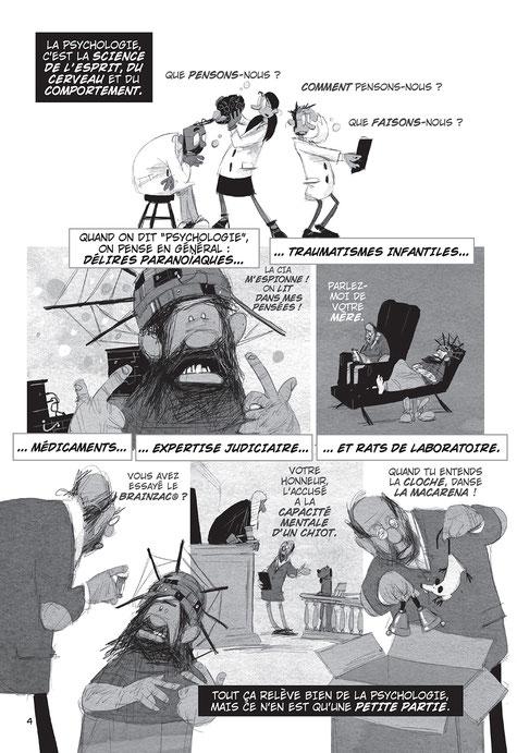 Planche de la BD Psychologix de Danny Oppenheimer et Grady Klein