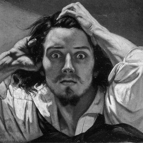 Selbstporträt: Der Verzweifelte, Gustave Courbet (1843–1845)