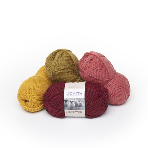 Novita Garn Nordic Wool