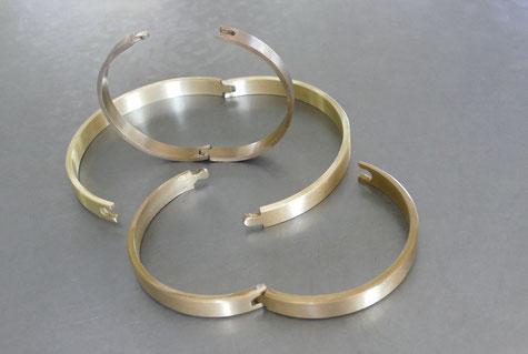 Schmierringe aus Stahl oder Messing