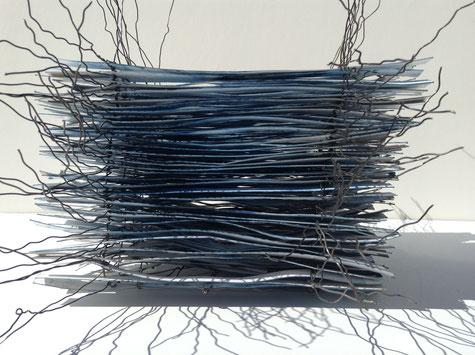 Papierobjekt, Kunstobjekt aus Papier, Artwork, Paper sculpture, sculpture en papier, art moderne