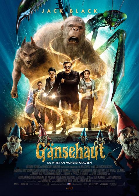 Jack Black - Gänsehaut - Sony - kulturmaterial - Filmplakat