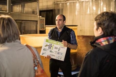 VinoLoire - Vincent Delaby - Excursions privilégiées dans les domaines vignobles du Val de Loire - Visites accompagnées et expériences ateliers vignerons