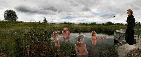 "Джад, Оксана, ""Мечта"", Lambda Print, Limited Edition, Auflage: 5 + 2*, 2007, 70 x 180 cm"