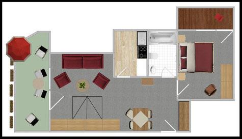 "Grundriss - Wohnung Nr. 2 - ""Heumacher"""