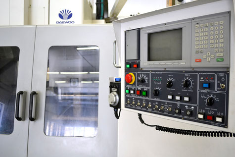 CNC Vertical Mill