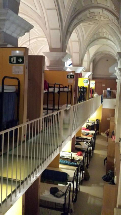Große Pilger-Herberge in Pamplona