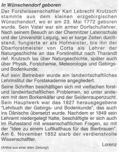 Bild: Teichler Wünschendorf Erzgebirge Krutzsch