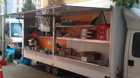 die mobile Küche - Büffet
