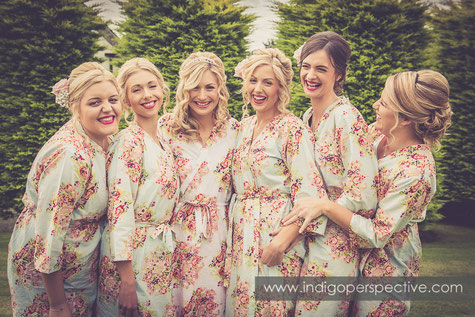 Bride & Bridesmaids North Devon Wedding