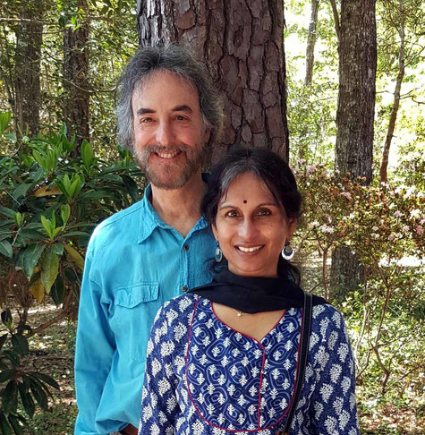 Michael and Lakshmi at Meher Center, Myrtle Beach, Sth.Carolina Photo by Anthony Zois