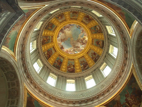 Les Invalides Dome, Paris _ Photo taken by Anthony Zois - 2010