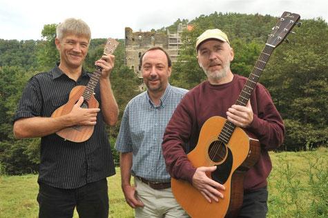 Achim Römer, Stefan Nick und Werner Rüdel, Foto: Werner Dupuis