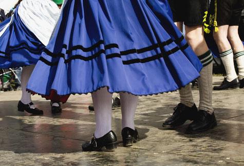 Bild: Trachtensocken für Damen, Strumpf-Klaus